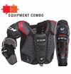 CCM U+ Crazy Strong Midnight LE Sr. Protective Equipment Combo