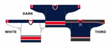 CCM Uncrested Columbus Hockey Jersey