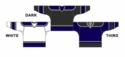 CCM Uncrested Los Angeles Hockey Jersey