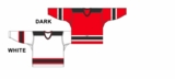 CCM Uncrested New Jersey Hockey Jersey