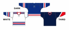 CCM Uncrested New York (R) Hockey Jersey