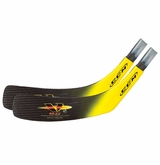 CCM Vector V8.0 Tapered Jr. Replacement Blade - Yellow - 2 Pack