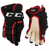 Chicago Blackhawks CCM 10K Pro Stock Hockey Gloves - #28