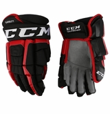 Chicago Blackhawks CCM 3 Pro Stock Hockey Gloves - Garbutt