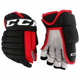 Chicago Blackhawks CCM 4 Roll Pro Stock Hockey Gloves