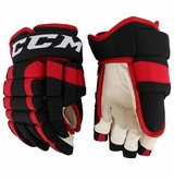 Chicago Blackhawks CCM 4R Pro Stock Hockey Gloves - Saad