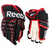Chicago Blackhawks Reebok 10KN Pro Stock Hockey Gloves