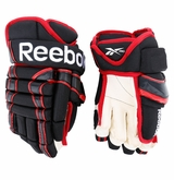 Chicago Blackhawks Reebok 852T Pro Stock Hockey Gloves