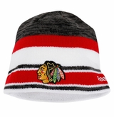 Chicago Blackhawks Reebok Center Ice Men's Team Knit Beanie