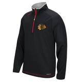 Chicago Blackhawks Reebok Center Ice Sr. Quarter Zip Pullover
