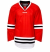Chicago Blackhawks Reebok Edge Gamewear Uncrested Adult Hockey Jersey