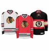 Chicago Blackhawks Reebok Edge Jr. Premier Crested Hockey Jersey