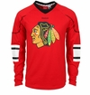 Chicago Blackhawks Reebok Edge Sr. Long Sleeve Jersey Tee