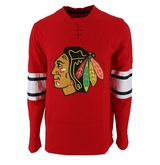 Chicago Blackhawks Reebok Face-Off Jersey Sr. Long Sleeve Shirt