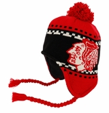 Chicago Blackhawks Reebok Face-Off Men's Tassel Knit Beanie