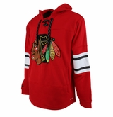 Chicago Blackhawks Reebok Face-Off Team Jersey Sr. Hooded Sweatshirt