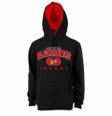 Chicago Blackhawks Reebok Face-Off Playbook Sr. Pullover Hoody