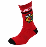 Chicago Blackhawks Reebok Sr. Jacquard Crew Socks