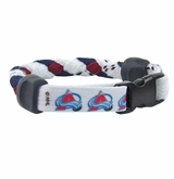 Colorado Avalanche Skate Lace Bracelet