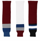 Colorado Avalanche Gladiator Cut Resistant Hockey Socks