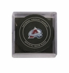 Colorado Avalanche Official NHL Game Puck with Cube