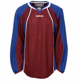 Colorado Avalanche Reebok Edge Gamewear Uncrested Adult Hockey Jersey