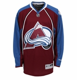 Colorado Avalanche Reebok Edge Premier Youth Hockey Jersey