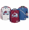 Colorado Avalanche Reebok Edge Premier Crested Hockey Jersey