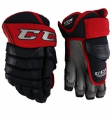 Columbus Blue Jackets CCM 90 Pro Stock Hockey Gloves