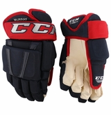 Columbus Blue Jackets CCM 96 Pro Stock Hockey Gloves - Murray