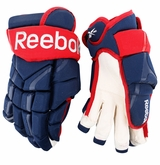 Columbus Blue Jackets Reebok 10KN Pro Stock Hockey Gloves