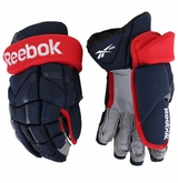 Columbus Blue Jackets Reebok 11K Pro Stock Hockey Gloves