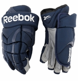 Columbus Blue Jackets Reebok 11KP Pro Stock Hockey Gloves
