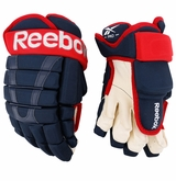 Columbus Blue Jackets Reebok 95 Pro Stock Hockey Gloves
