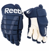 Columbus Blue Jackets Reebok 95XP Pro Stock Hockey Gloves