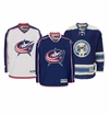 Columbus Blue Jackets Reebok Edge Premier Crested Hockey Jersey