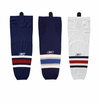 Columbus Blue Jackets Reebok Edge SX100 Intermediate Hockey Socks