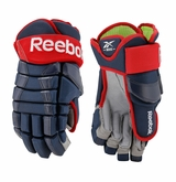 Columbus Blue Jackets Reebok Pro Stock HG90 Hockey Gloves