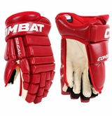 Combat MF 52 Caliber Leather Sr. Hockey Gloves