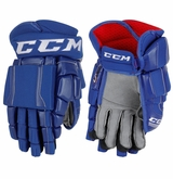 Connecticut Whalers CCM Crazy Light Pro Stock Hockey Gloves