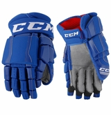 Connecticut Whalers CCM Crazy Light Pro Stock Padded Hockey Gloves