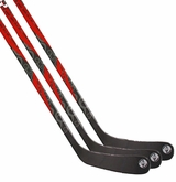 Crazy Monkey Clear Int. Composite Hockey Stick - 3 Pack