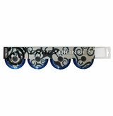 Crazy Monkey Indoor 76A Inline Hockey Wheel - Royal - 4 pack