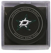 Dallas Stars Official NHL Game Puck with Cube