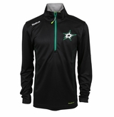 Dallas Stars Reebok Baselayer Quarter Zip Pullover Performance Jacket