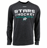 Dallas Stars Reebok Center Ice Locker Room Sr. Long Sleeve Performance Shirt