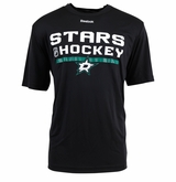 Dallas Stars Reebok Center Ice Locker Room Sr. Short Sleeve Performance Shirt
