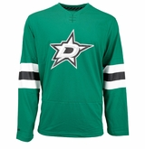 Dallas Stars Reebok Face-Off Jersey Sr. Long Sleeve Shirt