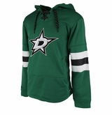 Dallas Stars Reebok Face-Off Team Jersey Sr. Hooded Sweatshirt
