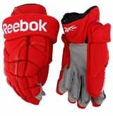 Detroit Red Wings Reebok 11KP Pro Stock Hockey Gloves